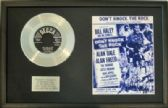 BILL HALEY  Platinum Disc   -DON'T KNOCK THE ROCK